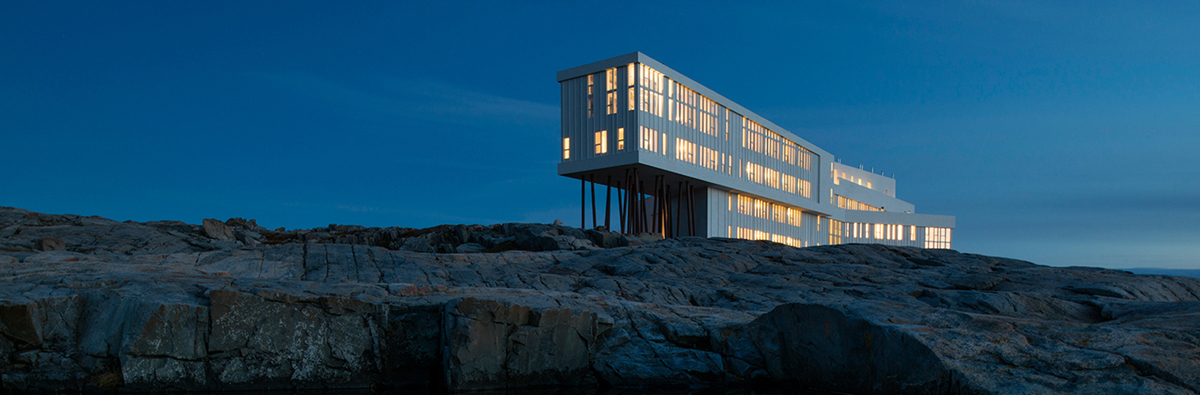 The Award-Winning Fogo Island Inn